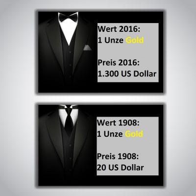 Boss-Assekuranz Berlin - Im Gegensatz zu Papiergeld, verliert Gold nie seinen Wert